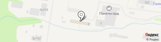 Панельгард на карте Мурино
