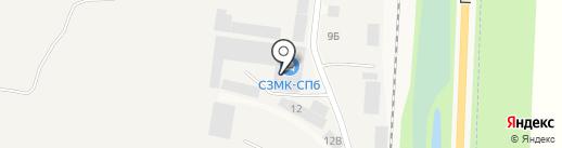 ДорМашСервис на карте Нового Девяткино