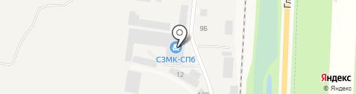 Компания на карте Нового Девяткино