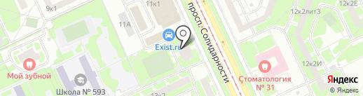 ЖСК №978 на карте Санкт-Петербурга