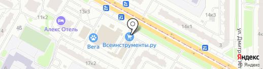 Гамма на карте Санкт-Петербурга