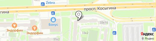 Ржевка, ТСЖ на карте Санкт-Петербурга