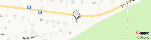 Магазин №9 на карте Токсово