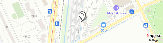 Всероссийское общество автомобилистов на карте Кудрово