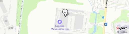 Первый склад на карте Кудрово