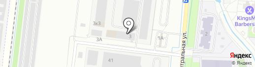 Дом обоев на карте Кудрово