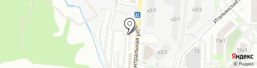 Эмикар на карте Кудрово