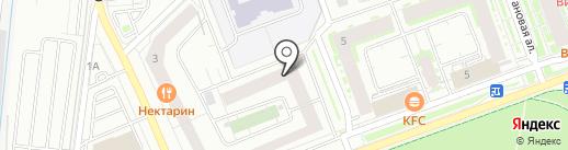 ИНТАН на карте Кудрово
