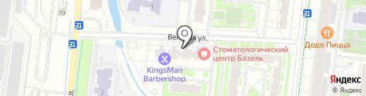 Ко-ко молоко на карте Кудрово