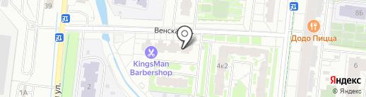 Мастерская по ремонту обуви на карте Кудрово