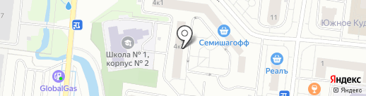 Петербургская недвижимость на карте Кудрово