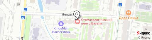 Кудри на карте Кудрово