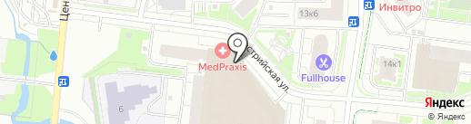 Катрин на карте Кудрово
