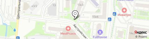 Виктория на карте Кудрово
