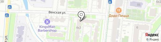Центр здоровой стопы на карте Кудрово
