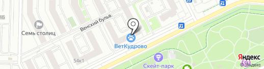 Платежный терминал, СДМ-банк, ПАО на карте Кудрово