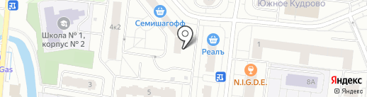 Паштет на карте Кудрово