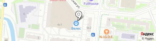 ПивГрад на карте Кудрово