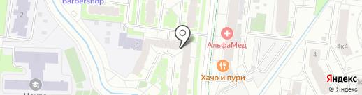 ЦЕХ 85 на карте Кудрово