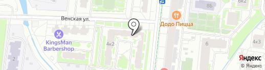Магазин овощей и фруктов на карте Кудрово
