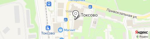 Мегафон на карте Токсово