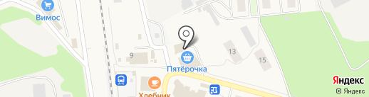 Этюд на карте Токсово