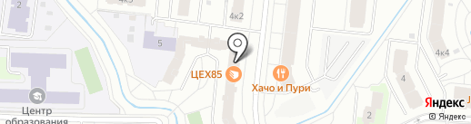 Fitness life на карте Кудрово