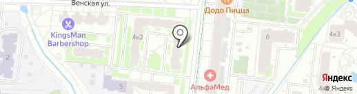 Элекснет на карте Кудрово