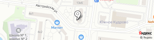 Ладоград на карте Кудрово