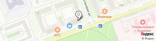 Monte Carlo на карте Кудрово