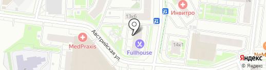 Продуктовый магазин на карте Кудрово