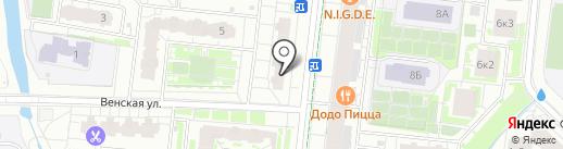 Ле`Муррр на карте Кудрово