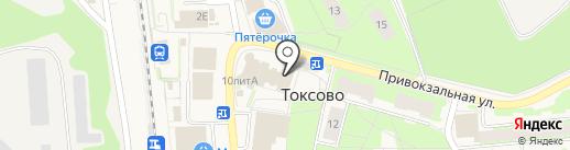 Магазин мужской одежды на Привокзальной на карте Токсово