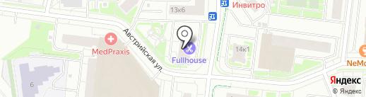 Арсенал-Недвижимость на карте Кудрово