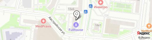 Магазин продуктов из Армении на карте Кудрово