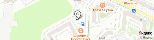 ЖЭС №1 на карте Кудрово