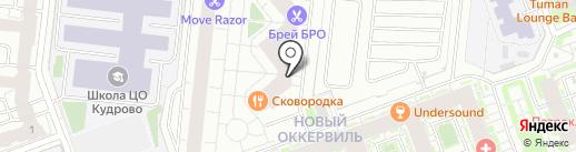 Confetti на карте Кудрово