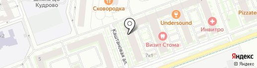 Студия депиляции Кати Савельевой на карте Кудрово