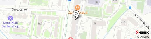 Магнит на карте Кудрово