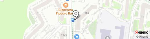 Великоречье на карте Кудрово