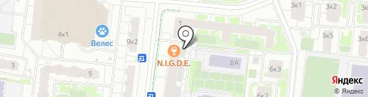 Ду-да-ду на карте Кудрово