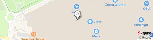Суши-маркет на карте Кудрово