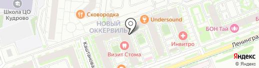 Мебельный дом Ларисы Карпушиной на карте Кудрово