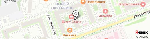 Салон штор на карте Кудрово