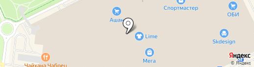 Орматек на карте Кудрово