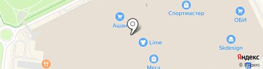 Евросеть на карте Кудрово