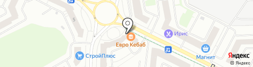 FitnessBar на карте Кудрово