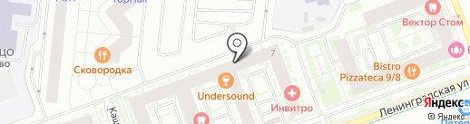 Управление комфортом на карте Кудрово