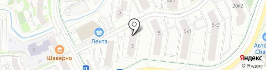 Fox hole на карте Кудрово
