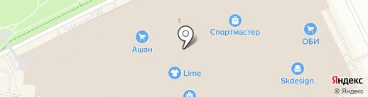 Ригла на карте Кудрово